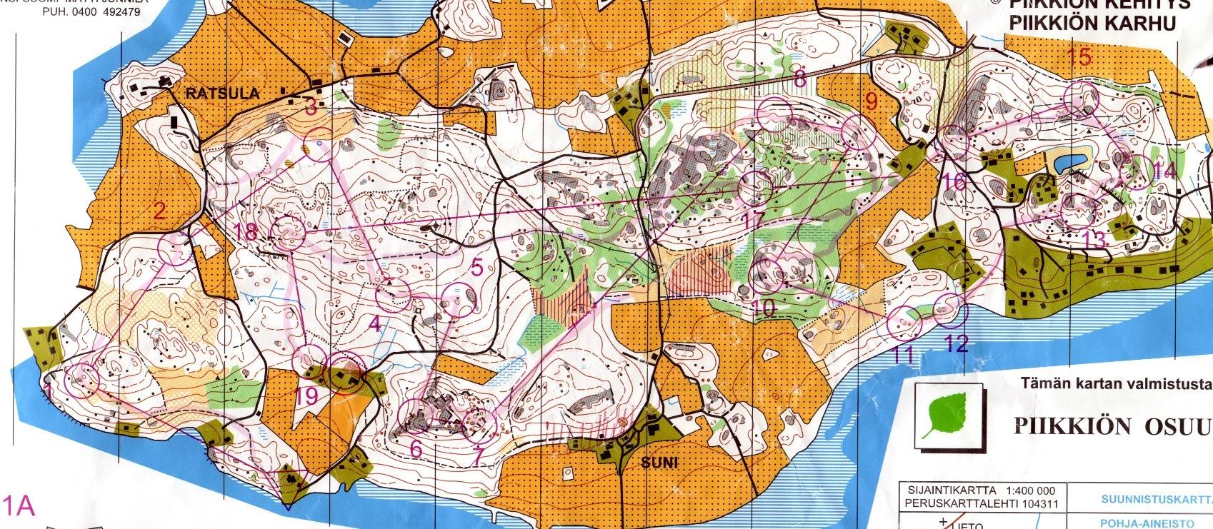 Toden Kartat Piikkion Karhun Ja Kehityksen Kansalliset 2001 05 12